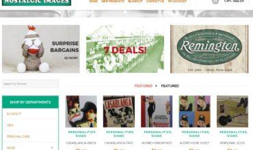 Nostalgic Images E-Commerce